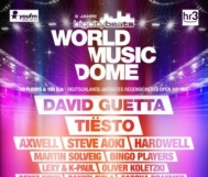 *WIN* So, 09.06. // BigCityBeats WORLD MUSIC DOME // David Guetta, Tiesto, Axwell, ...