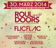 *WIN* So, 30.03. // Electronic Funfair Festival // Roul and Doors, FlicFlac, uvm.