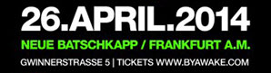 *WiN* Sa, 26.04. // Paul Van Dyk presented BY awake // Neue Batschkapp, Frankfurt