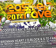 *TiPP* So, 20.04. // Easter Rave 2014 // Scooter, Kate Ryan, Italobrothers, ...